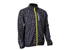 Salming Ultralite jacket men nine iron print safety yellow_F