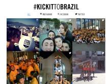 #KickItToBrazil Peugeots kampanj i sociala medier för ett bättre klimat