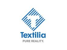 Textilia logotyp stående