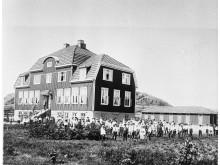 Kaprifolskolan, foto: Hunnebostrands Bildarkiv
