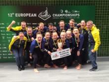 EM guld 2018 mixedlaget