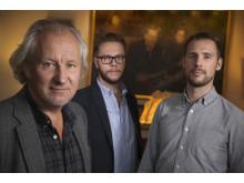Hans Lindeberg, Carl-Johan Bergman och Anders Härén, MittMedia - Nominerade till Årets Förnyare 2014