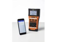 Brotherin ja Fluke Networksin yhteistyönä rakentama iLink&Label-appsi yhdistää PT-E550WVP-tarratulostimen ja Fluke Networksin asentajille tarkoitetut sovellukset