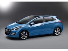 Hyundai i30 studio venstre side front