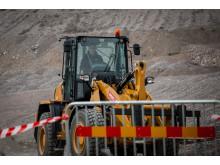 Cat Operator Challenge 2019, Bålsta, körning med hjullastare
