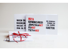 Paket med tre kort