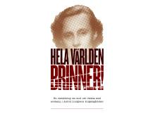 """Logotyp """"Hela världen brinner"""""""