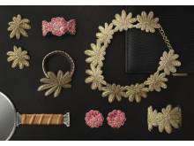 Broderade smycken av Sophia Edstrand