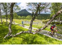 Cykling vid Mittåkläppen