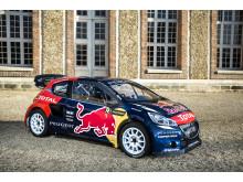 Team Peugeot-Hansen satsar fullt ut i rallycross-VM 2015!