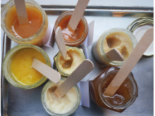 Honungsbar med sju sorters honung