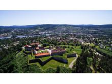 Das Festningen Hotell & Resort gehört zur Kongsvinger Festung an der Grenze zu Schweden