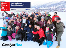 CatalystOne Topp-10 i Norges Bästa Arbetsplatser