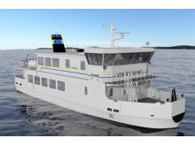 Waxholmsbolagets nya isgående fartyg