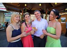 Weinkönigin eröffnete das traditionelle Leipziger Weinfest