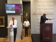 Jesper Bruun Rasmussen sælger Mønsteds maleri for 1,2 mio. kr.