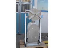 Tapflo T800 pump with Active Pulsation Dampener