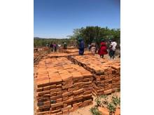 Produksjon av murstein