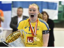 Klara Molin, svenska landslaget i innebandy