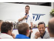 Jason at the Ford VIP
