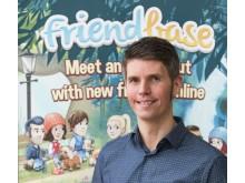 Andreas Rehnberg från Innovatums inkubatorföretag Friendbase