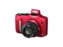 PowerShot SX160 IS RED FSL FLASH UP