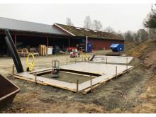 Byggnation  av Biokolsanläggning etapp 1 klar
