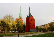Klockstapeln på St Johannes kyrkogård