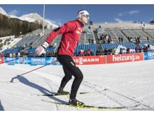 Johannes i trening - Antholz