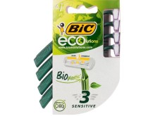 BIC® ecolutions™, BIC's first shaver with a bioplastic handle