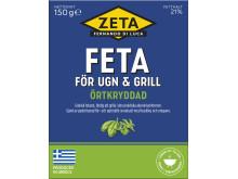 Produktbild Zeta Feta för ugn & grill, örtkryddad