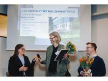 Hållbarhetspris HSB brf Agaten (fotograf Heléne Grynfarb)