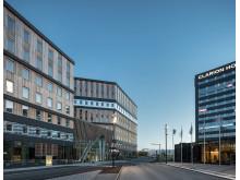 Office One vid Stockholm Arlanda Airport. Illustration: Tim Meier
