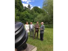 Öppning Tony Cragg på Djurgården