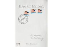 """Ebba Ómarsson skrev """"Brev till himlen"""" när hennes mamma gått bort i cancer"""