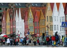 Das alte Hanseviertel Bryggen