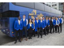 Team Ekman, 1st Bussness Class