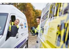 Volvo service på väg - Förbifart Stockholm