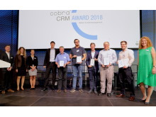 Fünf Projekte wurden auf dem cobra Partnertag mit dem CRM Award ausgezeichnet
