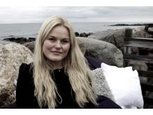 Hanna Jörnhammar har tilldelats stipendium för Ung Företagsamhet