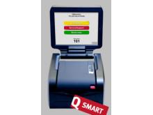 Q-smart, det lilla paketerade kösystemet från Q-channel