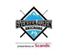 Skicross - Svenska cupen logotyp m Scandic