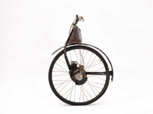Påhängshjulet ÖWA - visas i utställningen Cykel/Bike