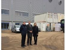 MdB Uwe Feiler am 30. Januar 2017 zu Besuch bei Takeda in Oranienburg