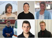 """Finalisterna i """"SM för unga plåtslagare 2014"""""""