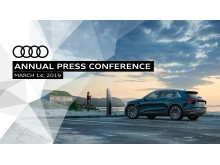 Audi Annual Press Conference 2019