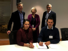 Norconsult signerte kontrakt med Hydro på Husnes_foto Norconsult