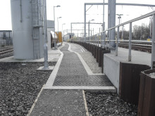 GRP composite trench covers installed at new Doncaster depot