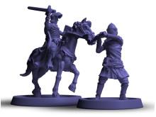 Crusader Kings Brädspelet (Frankrikes miniatyrer)
