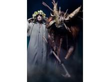 Julevæsner: Krampus og Perchta